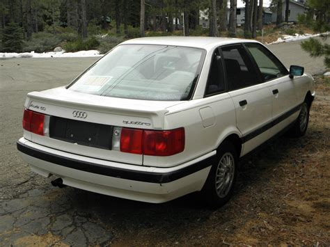 how petrol cars work 1990 audi 100 seat position control 1990 audi 80 quattro 5 speed cloth interior remarkable shape runs great for sale in south