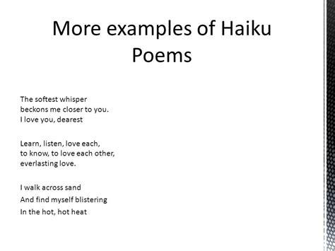 haiku template haiku exles about www pixshark images