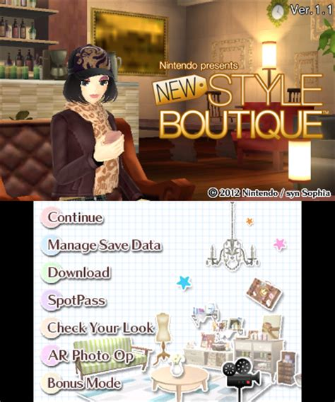 style boutique information about nintendo presents new style boutique