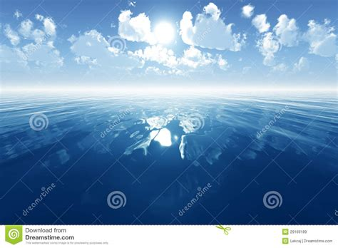 calming blue blue calm sea royalty free stock images image 29169189