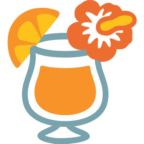 tropical drink emoji tropical drink emoji for facebook email sms id 413
