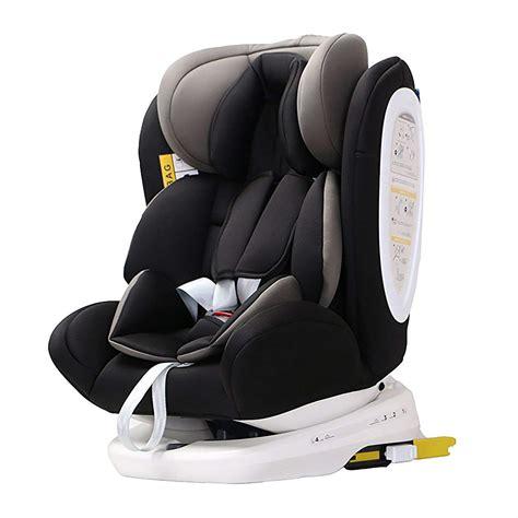 silla de coche grupo   isofix rotacion  negro