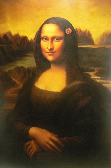 Selimut Monalisa Flower 1 passionforpaintings our works