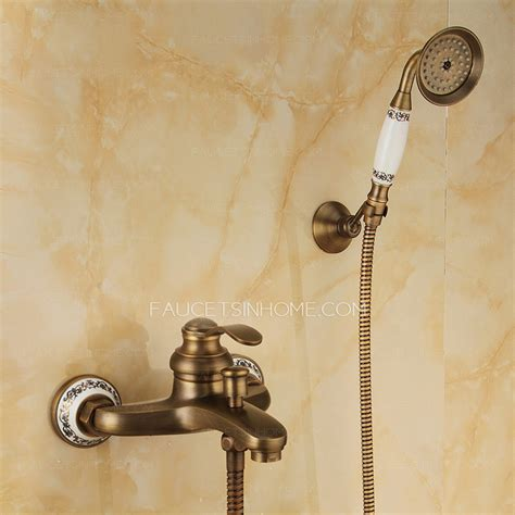 brushed copper bathroom faucets vintage brushed copper shower faucet with faucet pipe