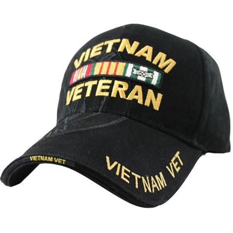 veteran ribbon rack deluxe black low profile cap