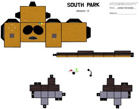 Papercraft Park - awesome o cubee template 1 by jordof131 on deviantart
