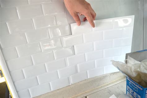 kitchen backsplash peel and stick tiles peel and stick tile in a rv this would be great for the rv and the home cing