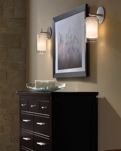Placement Of Wall Sconces In Bathroom Contemporary