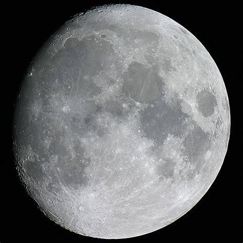 An Moon lunar observation