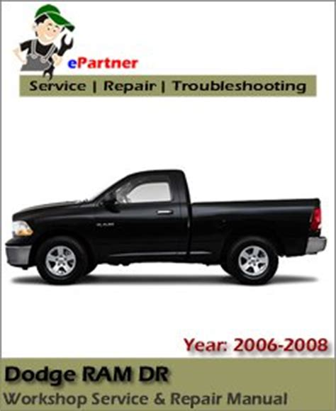 automotive service manuals 2006 dodge ram 1500 windshield wipe control dodge ram dr service repair manual 2006 2008 automotive service repair manual