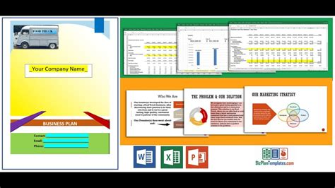 business plan format excel gratuit food truck business plan template youtube