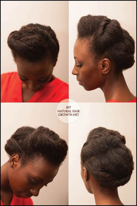 Modern Tuck And Roll Hairstyle | 17 best images about roll tuck n pin personal challenge