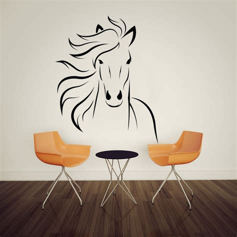 sticker on the wall popular mustang wall decals buy cheap mustang wall decals