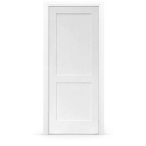 Interior Doors 30 X 80 Stile Doors 30 In X 80 In Shaker Primed 2 Panel Right Handed Solid Mdf Single Prehung