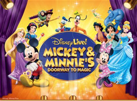 magic mickey and minnie disney doorway to live disney live mickey minnie s doorway to magic harford