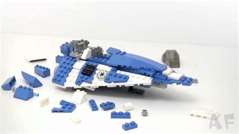 Lego 8093 Plo Koons Jedi Starfighter plo koon jedi starfighter lego wars stop motion review set 8093
