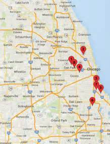Chicago Crime Map by Chicago Crime Map January 25 30 Chicago News