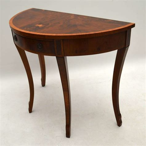 Yew Side Table Antique Yew Wood Console Side Table Marylebone Antiques Sellers Of Antique Furniture