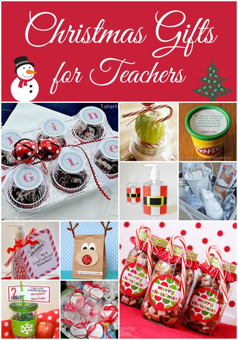 teacher christmas gifts to make gifts for teachers