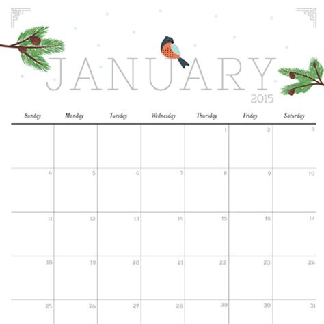 Printable Calendar Imom | cute and crafty 2015 printable calendar