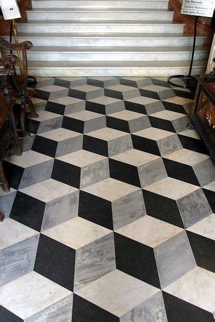 Neat 3D Floor Tile Design   Flooring   Flooring, Tiles