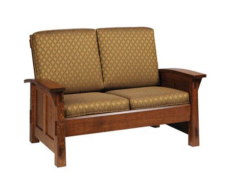 mission loveseat olde mission loveseat ohio hardword upholstered furniture