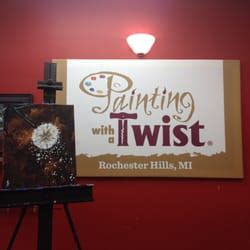 paint with a twist rochester painting with a twist 3320 rochester rd 23 photos