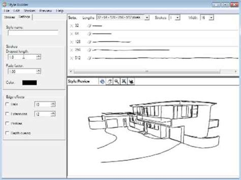 sketchup layout and style builder style builder quick overview for google sketchup youtube