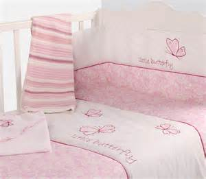 Toddler Cot Bed Bedding Set Baby Cot Nursery Bedding Quilt Bumper Pink Colour