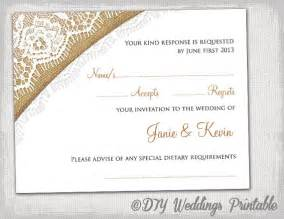 rsvp wedding templates rustic wedding rsvp template printable diy