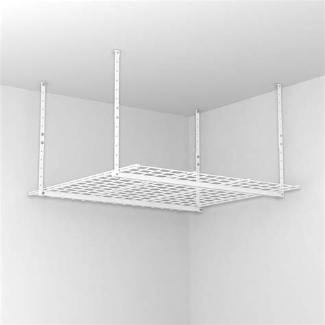 Ceiling Mounted Storage Shelf by Key Features