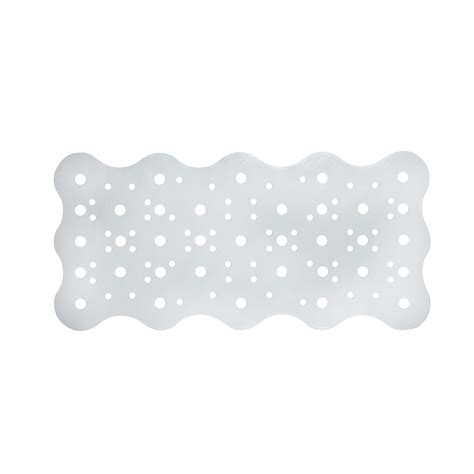 tappeto antiscivolo vasca da bagno tappeto per vasca da bagno in pvc antiscivolo 34x72 cm