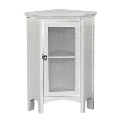 Corner Floor Cabinet by White Corner Floor Cabinet Home Fashions