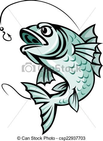 cartoon vis tattoo vector clip art de carpa pez saltar carpa pez para