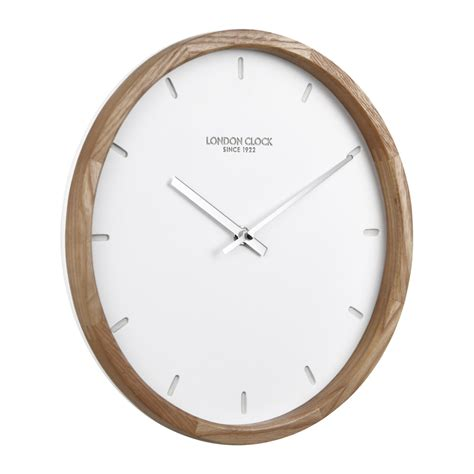 wood clock buy klokke wood case wall clock online purely wall clocks