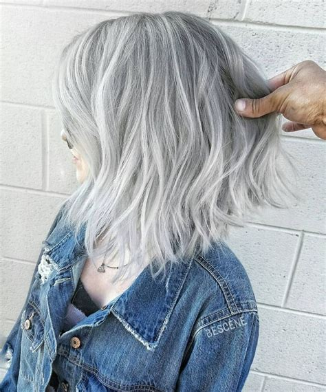 hairstyles with silver color 11 best images about short blonde hair on pinterest