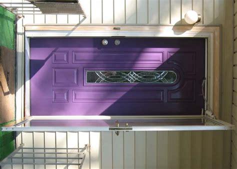 Cool Front Door Colors Cool Purple Color Front Door Ideas