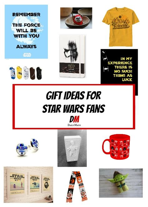 gift ideas for star wars fans gift ideas for star wars fans lit lovers link party