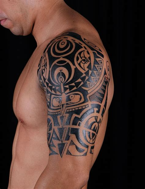tattoo ideas for men shoulder 35 great polynesian tattoos slodive