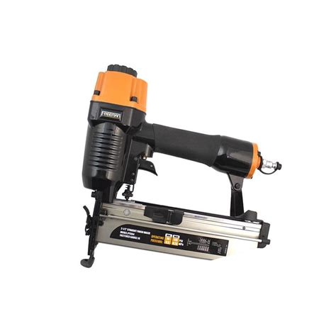 shop freeman freeman 16 gauge roundhead finishing pneumatic nailer at lowes com