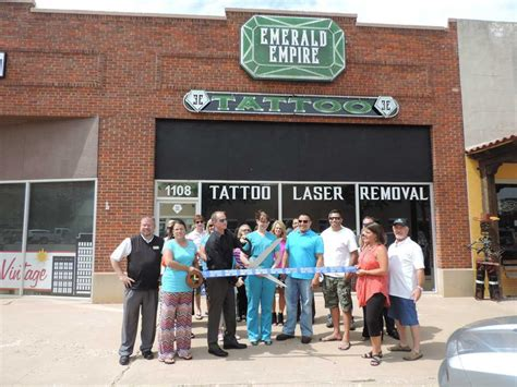 tattoo shops lubbock emerald empire shop opens downtown news lubbock