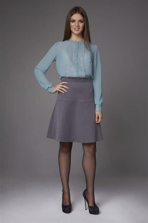 Blouse Leo Collor blue blouse storefront