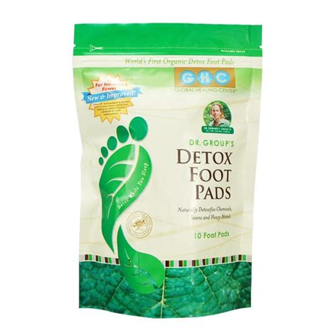 Detox Foot Pads by Living Foods Lifestyle New Zealand