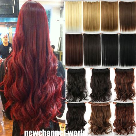 pictures of wavy hair extensions long straight curly wavy hair extension clip in hair