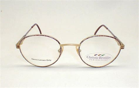 80s vintage christie brinkley designer eyeglasses