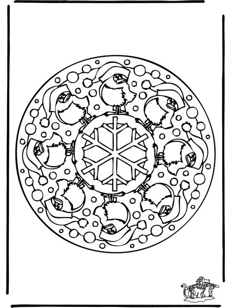 mandala coloring pages winter mandala winter 1 coloring pages