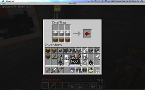 how do you make a bed in minecraft breaking minecraft beta 1 3 available for download the