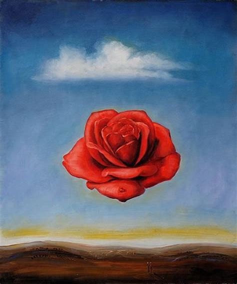 Flowers Online Delivery Cheap - the meditative rose painting salvador dali the