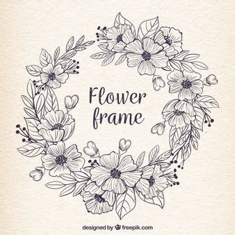 Creative Invitation by Wreath Vectors Photos And Psd Files Free Download