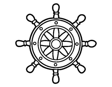 silueta de barcos para colorear dibujos para colorear de anclas y timones imagui deco